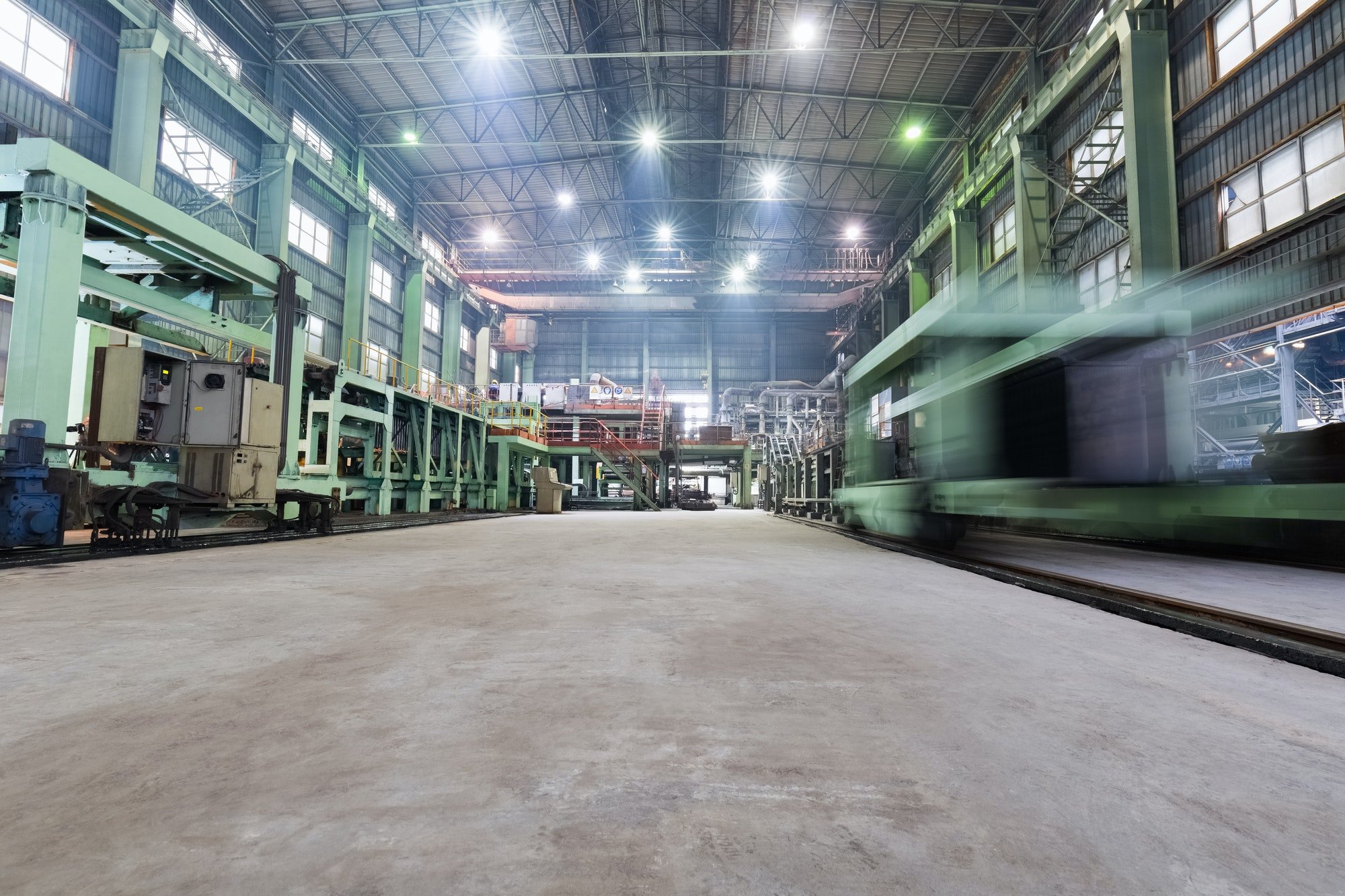 industrial production workshop closeup