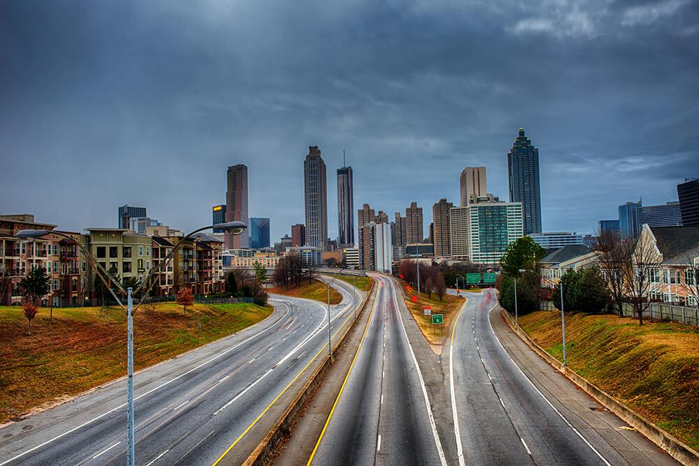 CREPP - South Atlanta Commercial Real Estate Site Selection Brokerage - Picture of Atlanta Skyline(1)